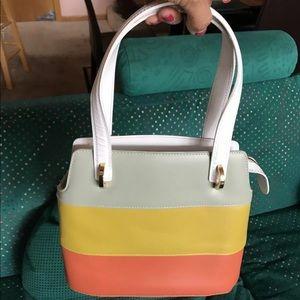 Authentic Salvatore Ferragamo Multicolor Handbag